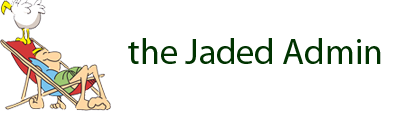 The Jaded Admin