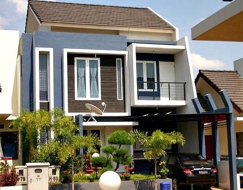 contoh desain rumah minimalis type 45 2 lantai cari