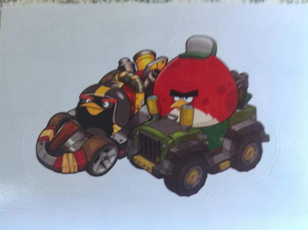 Angry Birds Go! 149 Troquelado