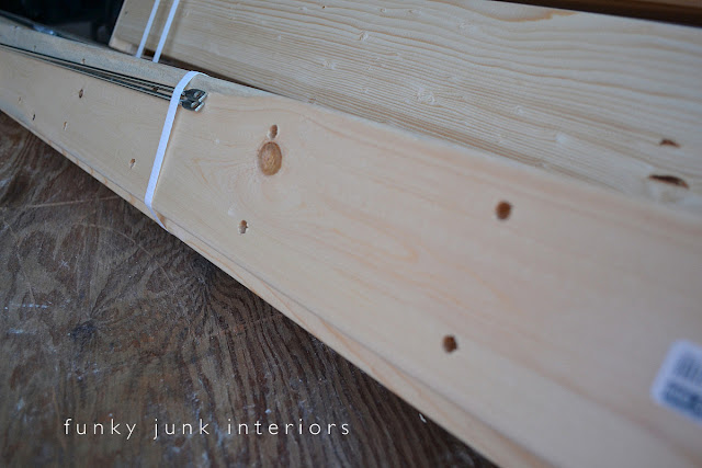 Installing an Ikea Gorm shelving kit via Funky Junk Interiors