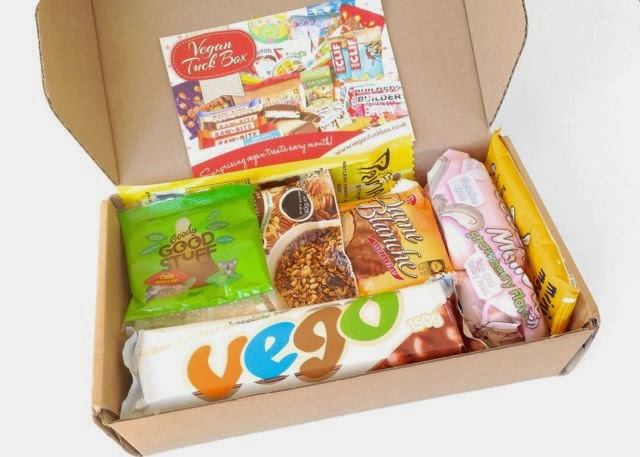 The Vegan Tuck Box - New Vegan Treats delivered to your door