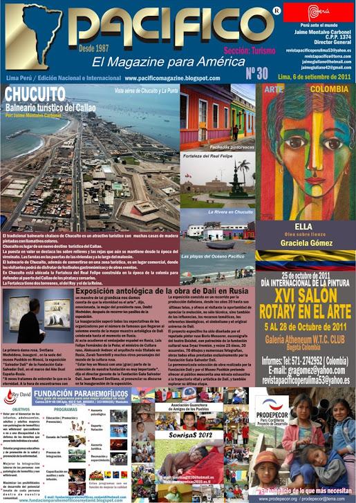 Revista Pacífico Nº 30 Turismo