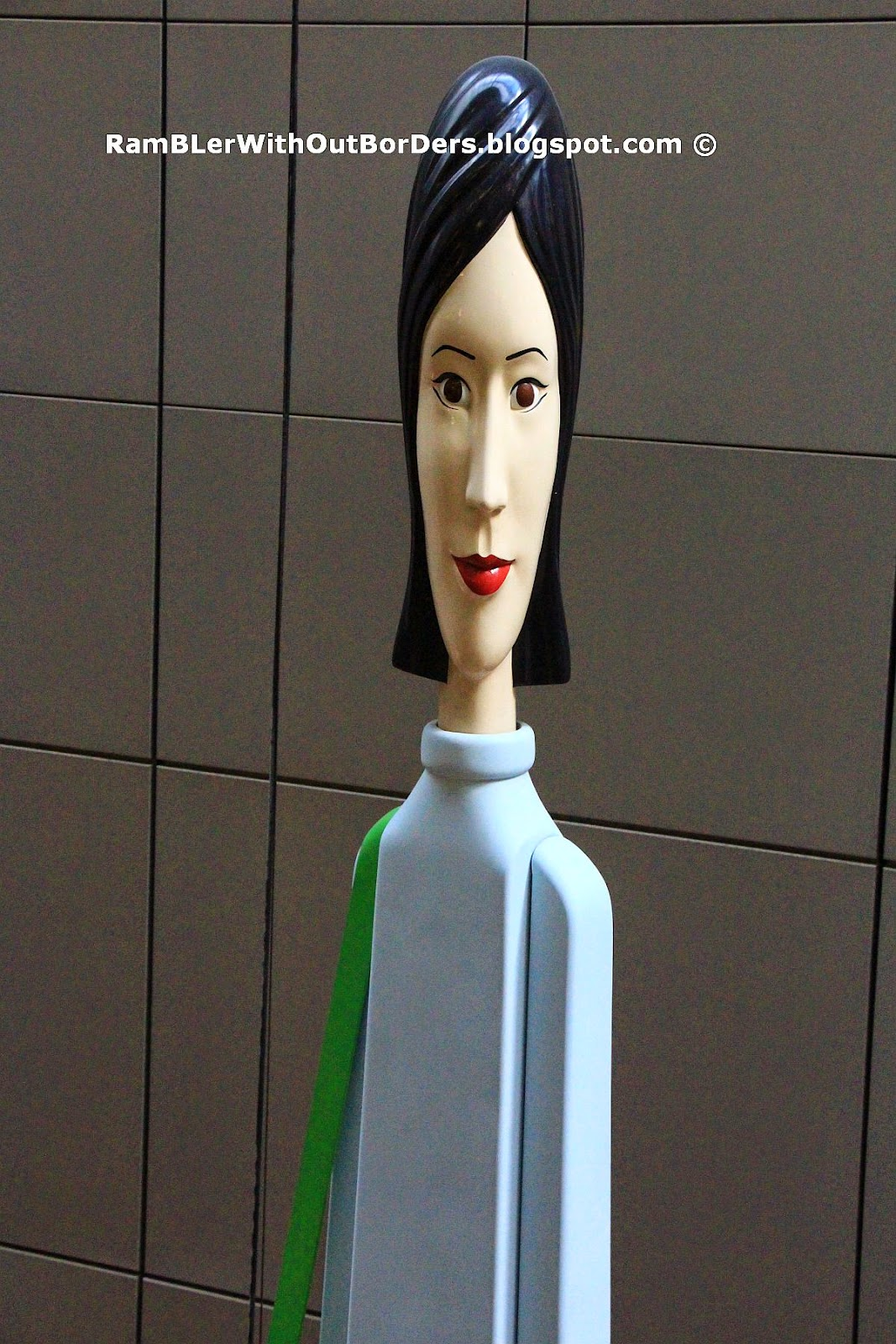 Tall Girl (2009), Orchard Central, Singapore