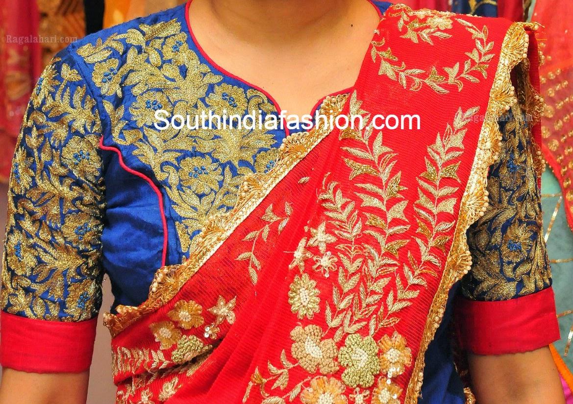 elbow length sleeves blouse