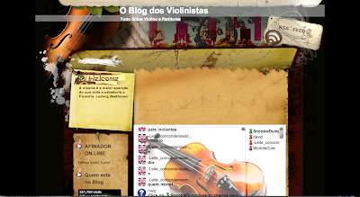 O blog dos Violinistas in Directorypax Tudo Sobre Violinos e Partituras. Sheet Music for Violin