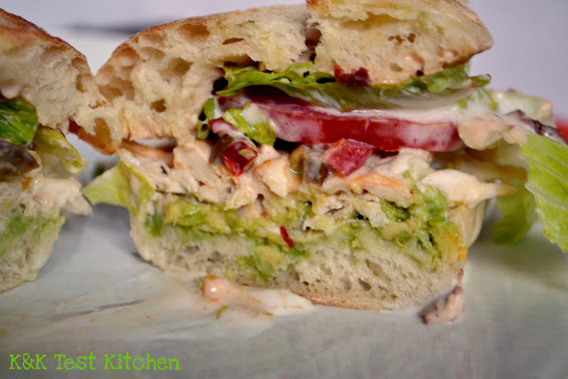 chicken torta sandwich recipe