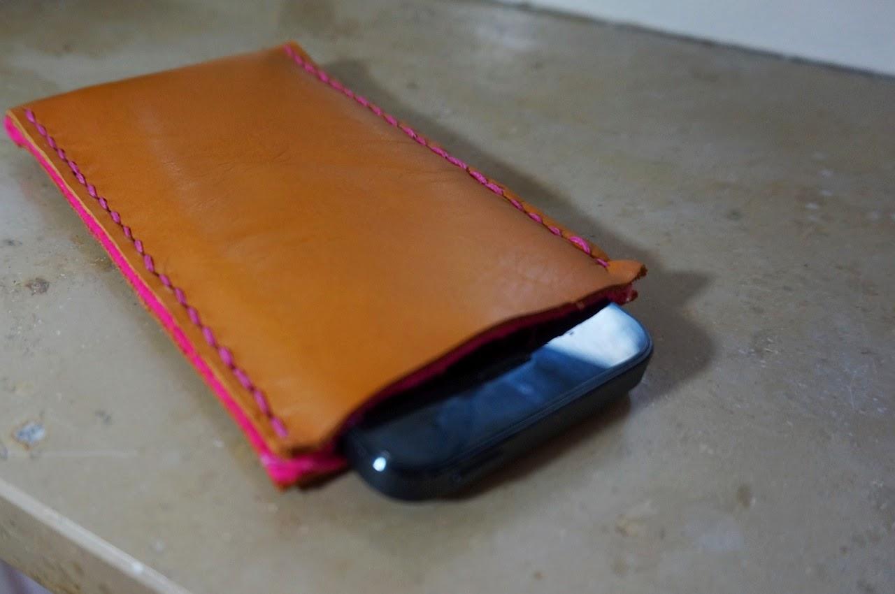 DIY iPhone Hülle pink