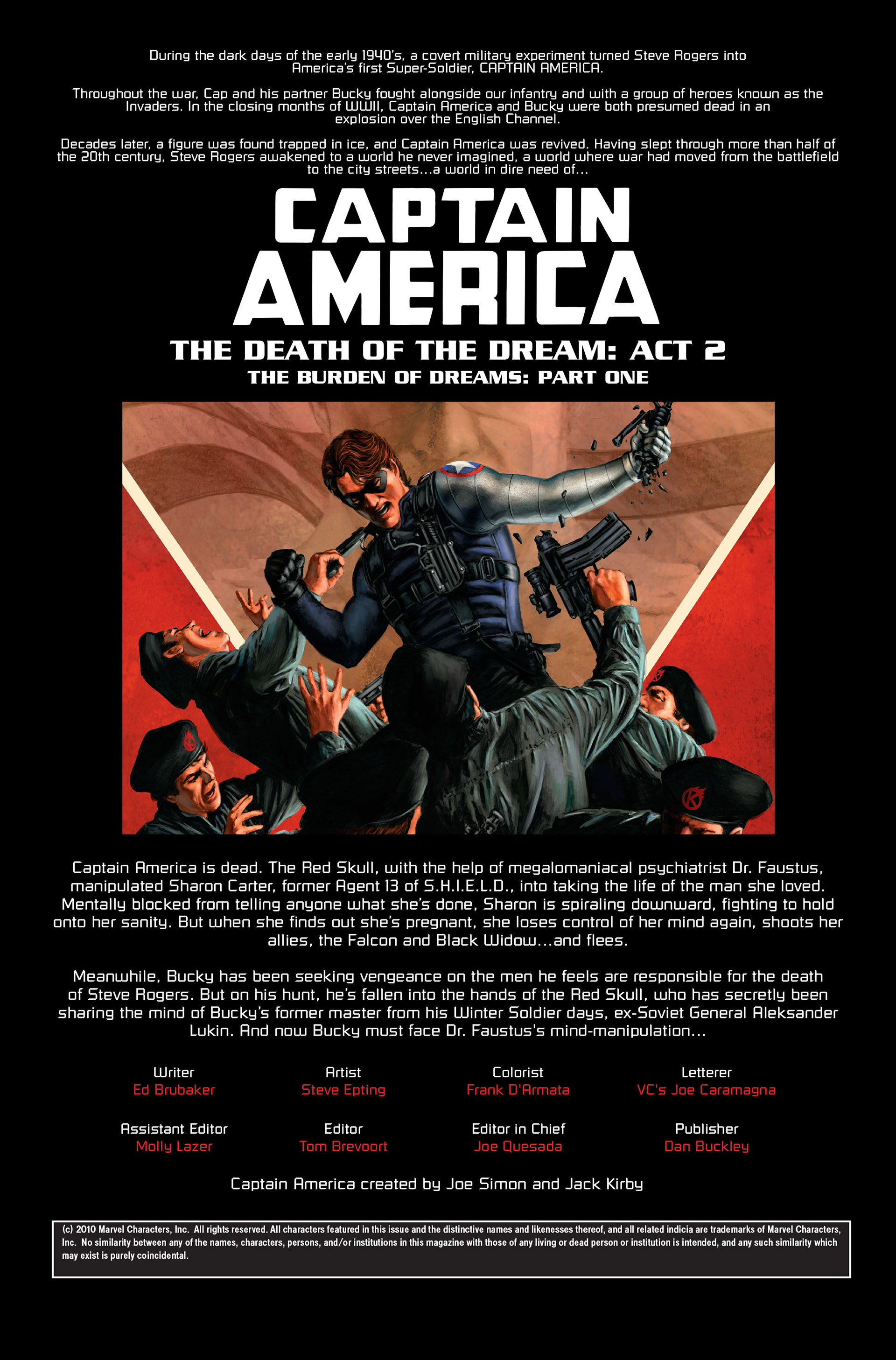 Captain America (2005) Issue #31 #31 - English 2