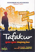 toko buku rahma: buku TAFAKUR , pengarang agung wibowo, penerbit kahfi