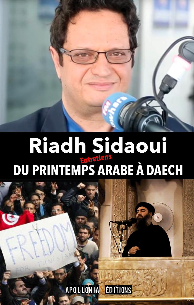 Bientôt dans les librairies mon nouveau livre: Du Printemps arabe à Daech.