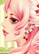 Модный пирсинг - Онлайн игра для девочек