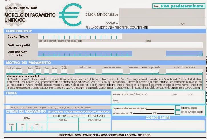 f24 oltre 1000 euro telematico