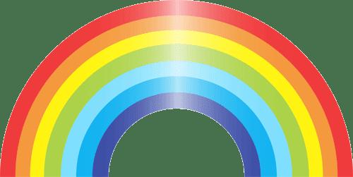 Arco iris para imprimir