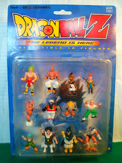 Collectible 12 Figures Dragon Ball Z Serie 3