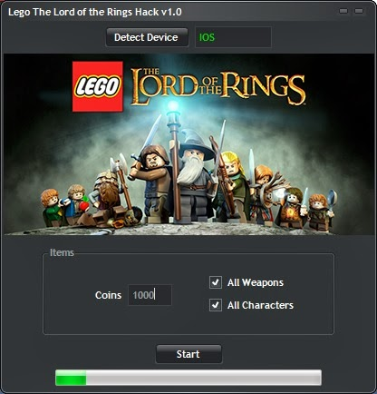 Lego The Lord Of Rings Game Hack v1.0