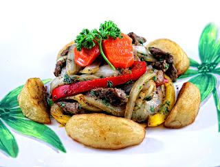 Salteado de Res - Sirloin Steak Strips