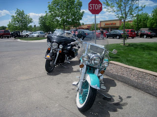 The Ride keeping good company at Aunt Alice's Kitchen