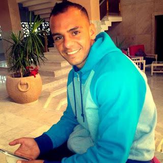 خالد قمر لاعب سموحة المعار من نادي الزمالك