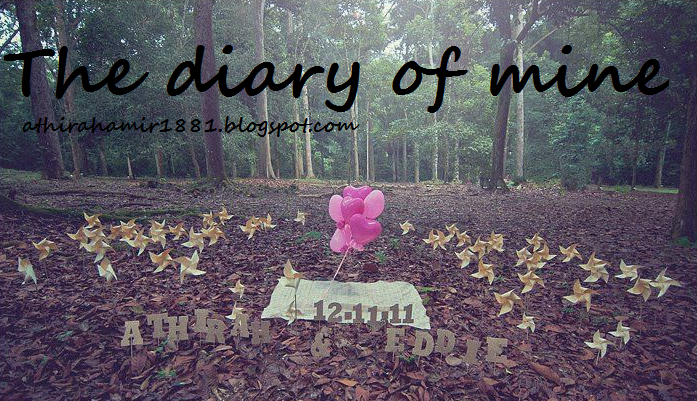 The diary of mine...