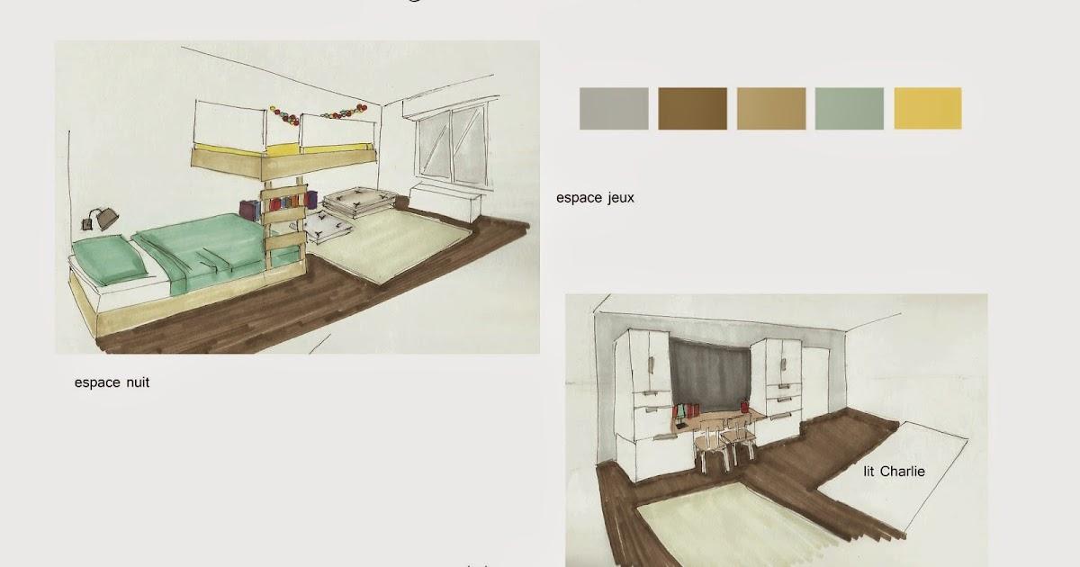 Adc l 39 atelier d 39 c t am nagement int rieur design d 39 espace et d coration 1 jour 1 projet - Amenagement chambre pour deux garcons ...