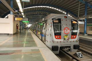Delhi Metro Noida Route