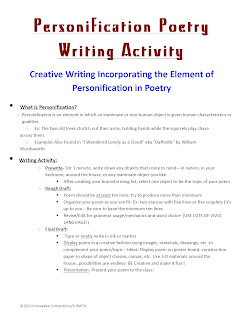 Personification Poems Examples