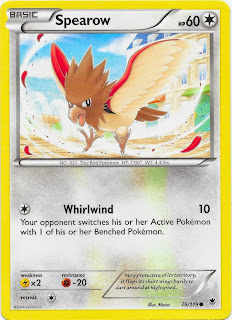 Spearow Phantom Forces Pokemon Card