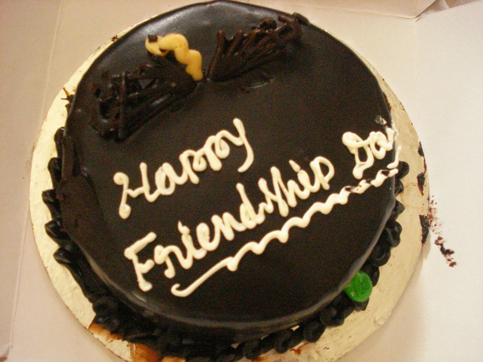 Happy Friendship Day Cake