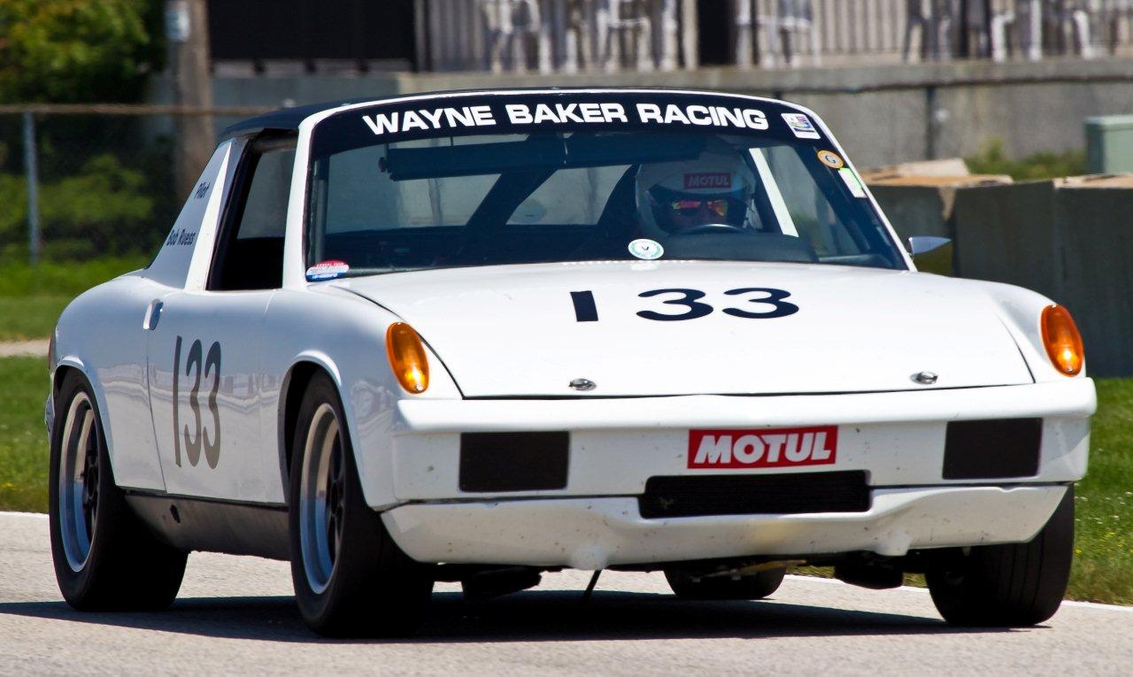 Personalized Autohaus Wayne Baker Racing Sold Vintage Porsche