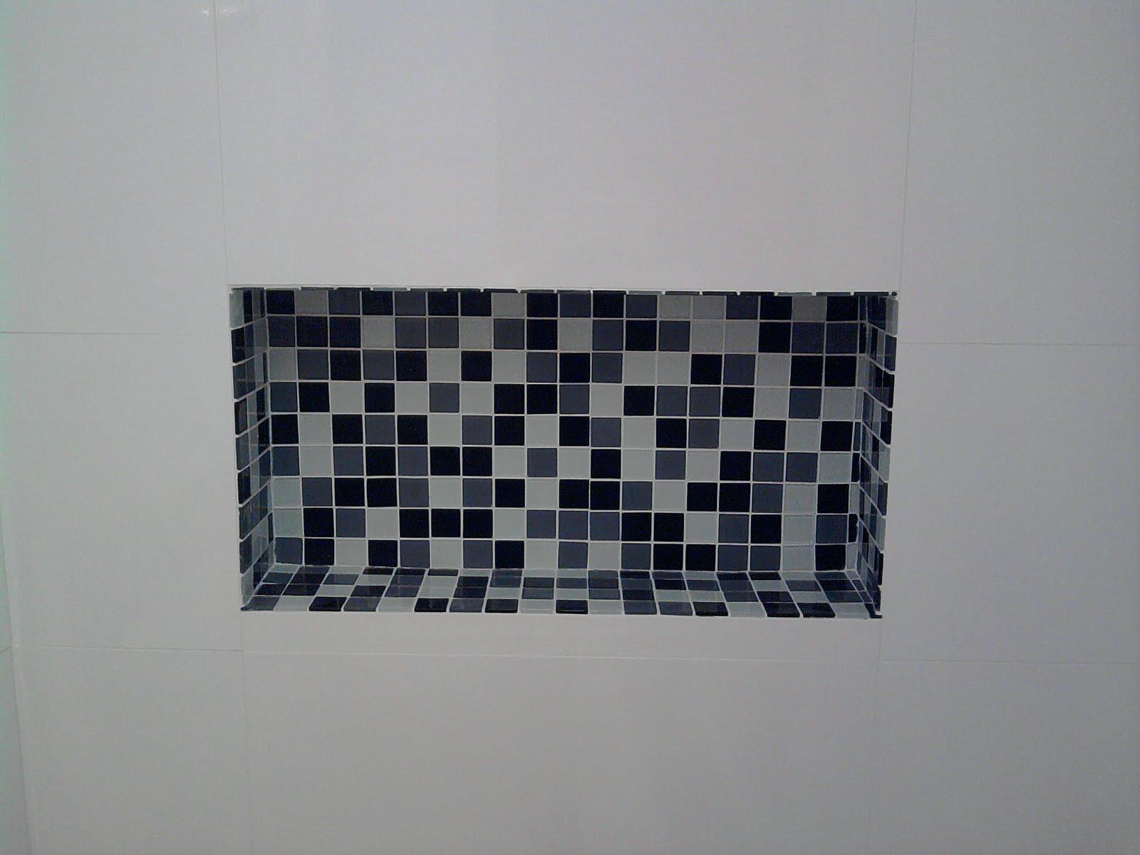 Arquitetando Minha Casa: Inspirações banheiro social #1D202C 1600x1200 Banheiro Box Em L