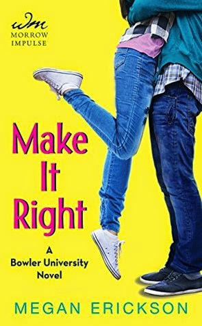 Make It Right Megan Erickson book cover