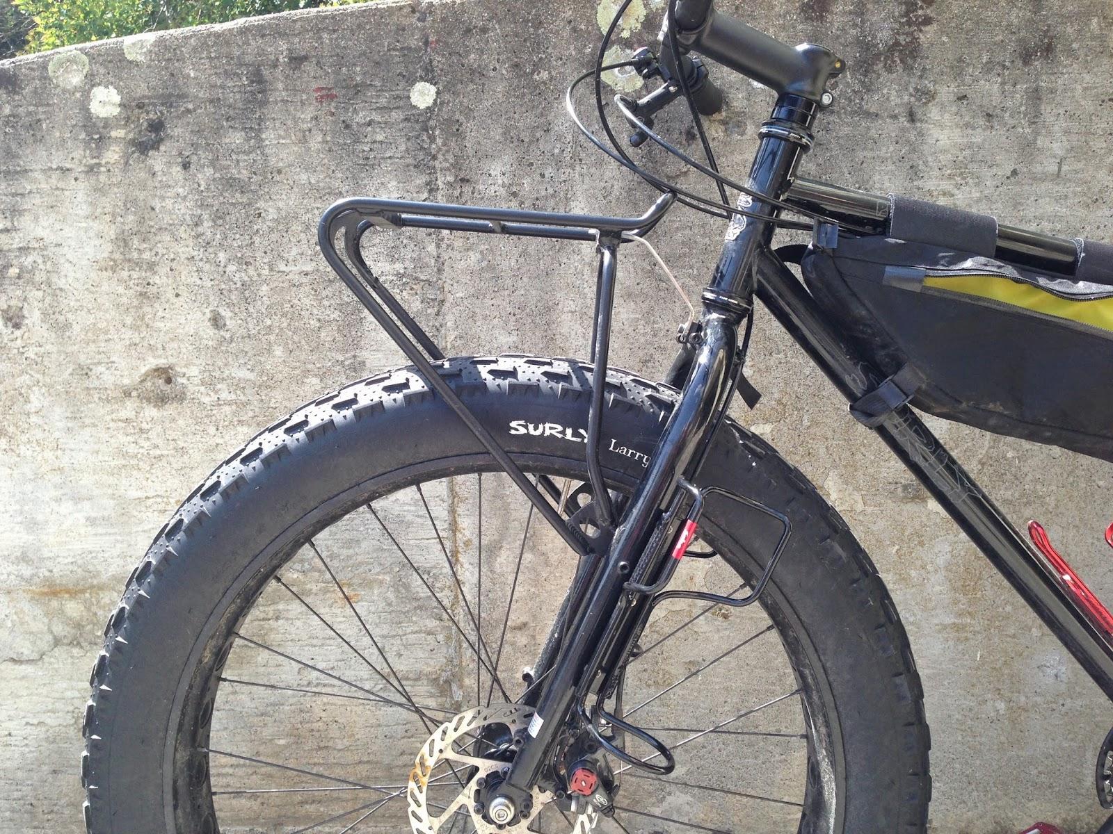Wileydog Cycle Racktime Top It Front Rack