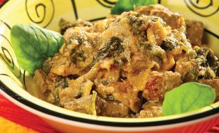 Мясо  по-индийски