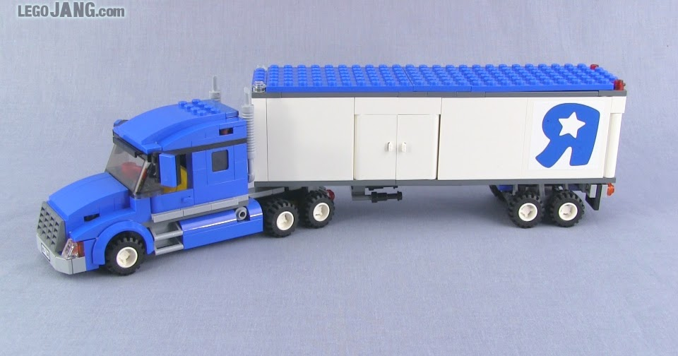 Lego Tractor Trailer : Lego official toys r us truck now with more shortness