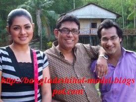 Bangladeshi  model Shojol