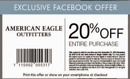 American eagle outfitters coupons all american eagle outfitters male