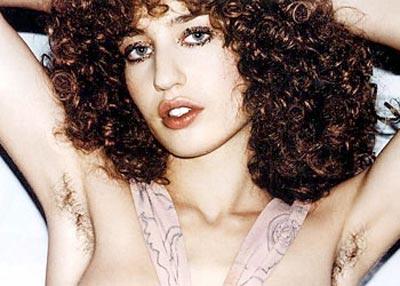 Hairy Female Celebrities