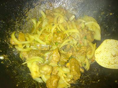 resepi daging goreng