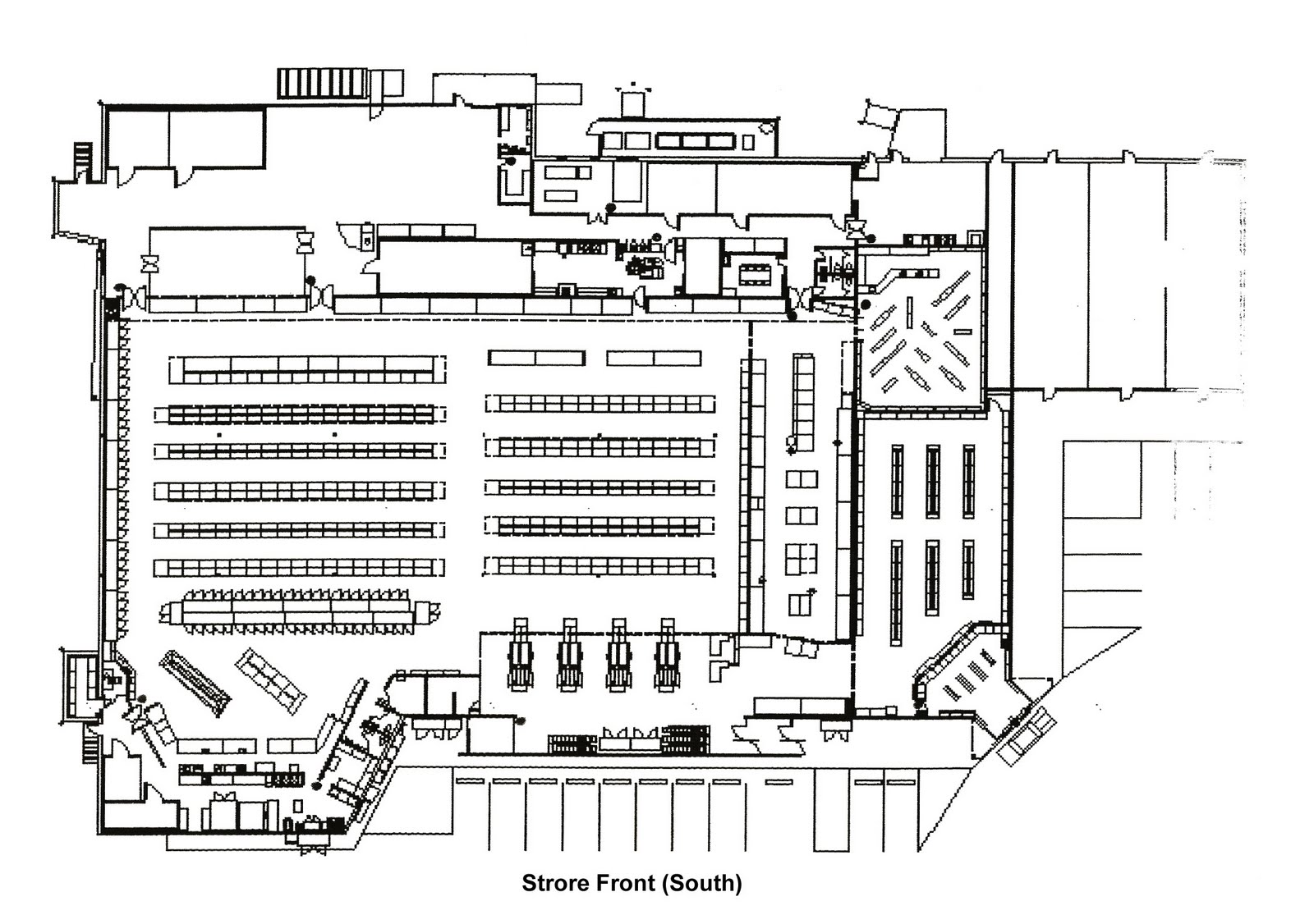 grocery store layout viewing gallery