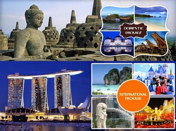 Berbagai Paket Tour Domestik dan International