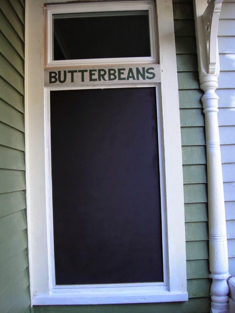 Butterbeans Blackboard