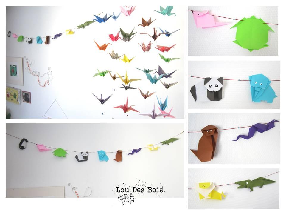 Guirlande Origami Chambre Bebe : Dans la chambre de Lou, il y a pas ...