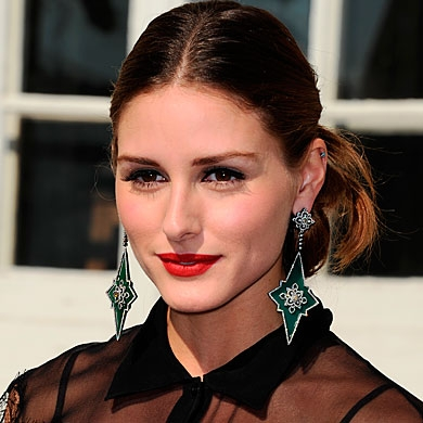 Olivia Palermo Fountain Bun Hairstyle