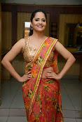 anasuya sizzling saree stills-thumbnail-11