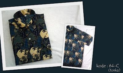 Baju Batik Pria 64C