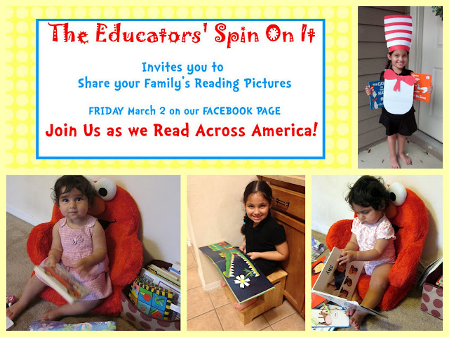 Read Across America with The Educators' Spin On It