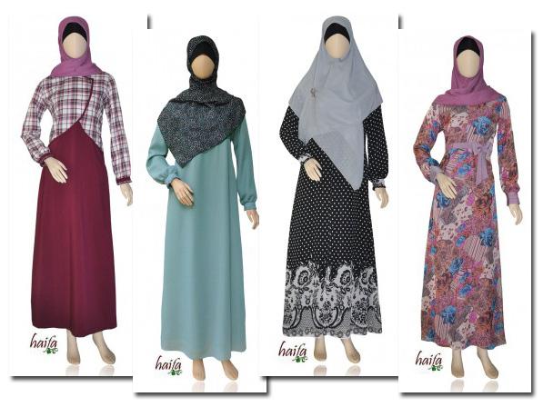 Model Jubah Batik Masa Kini
