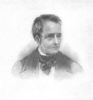 Drawing of Thomas de Quincey