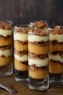 Pumpkin Praline Trifle Bakers Royale Happy Thanksgiving!