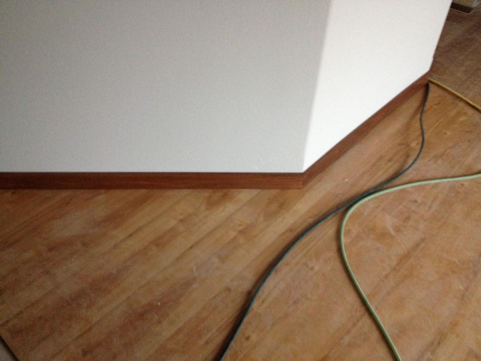 An Iowa Pride Doors Wood Floor Trim